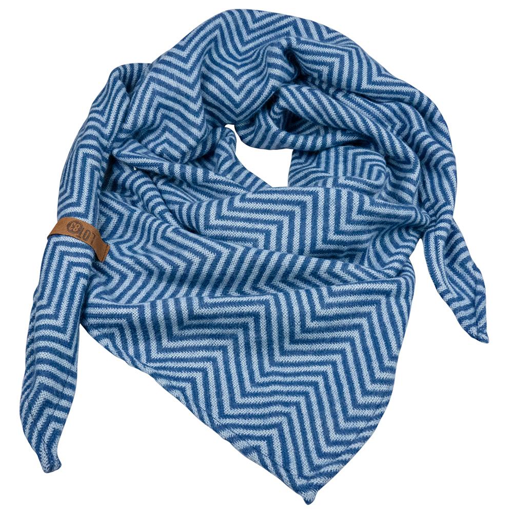 Schal Saar Blau