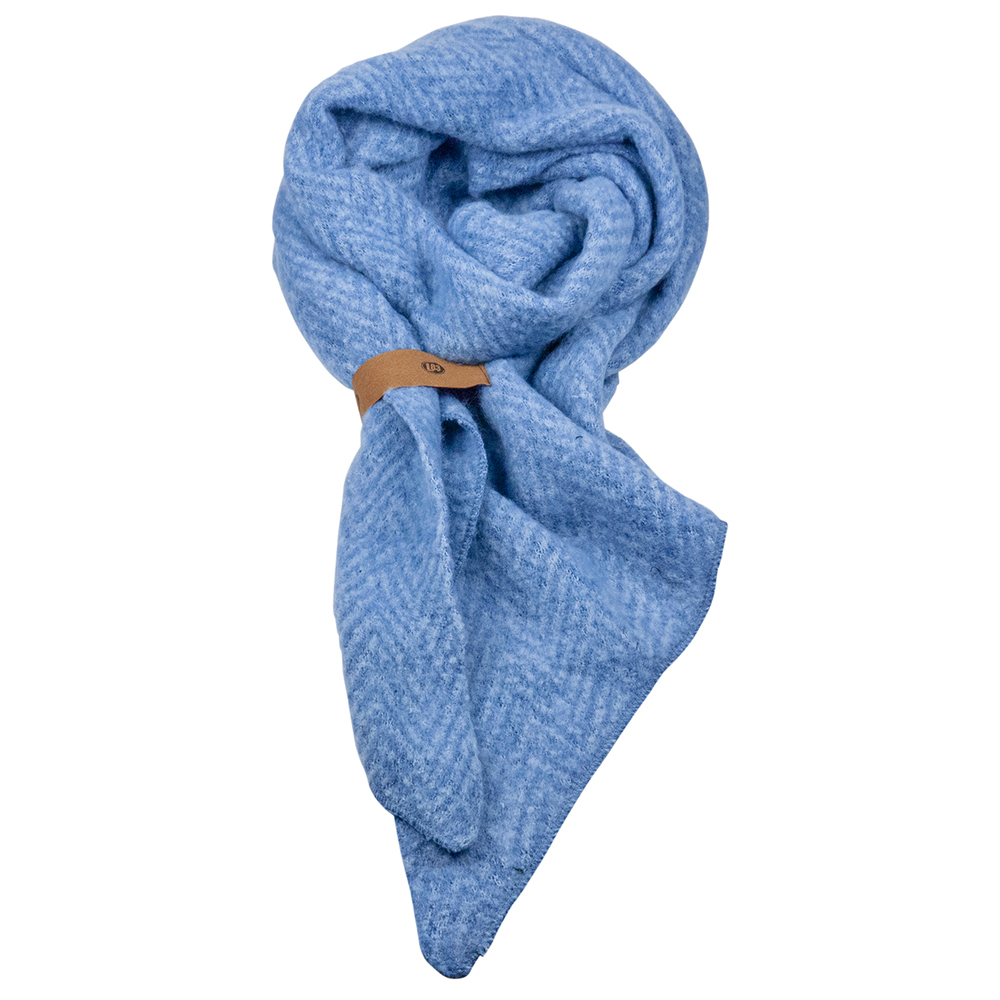 Sjaal Jet Blauw