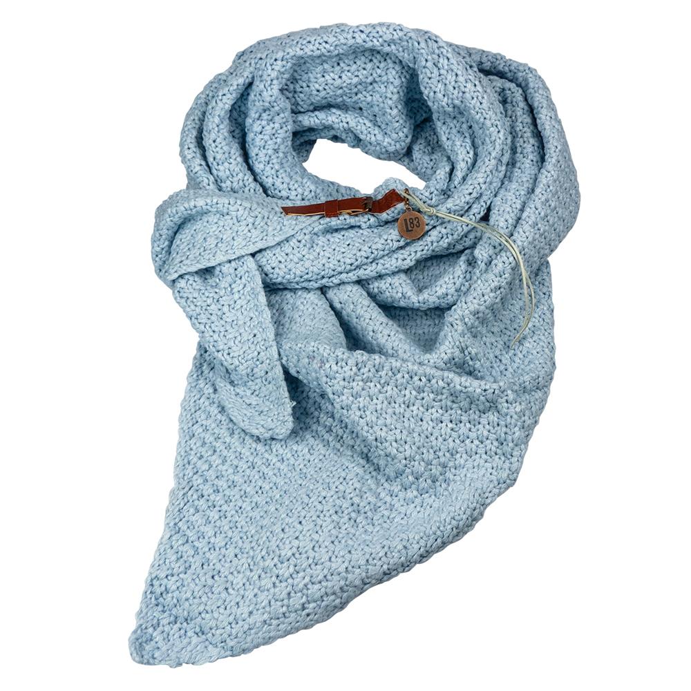 Sjaal Lot Licht Blauw