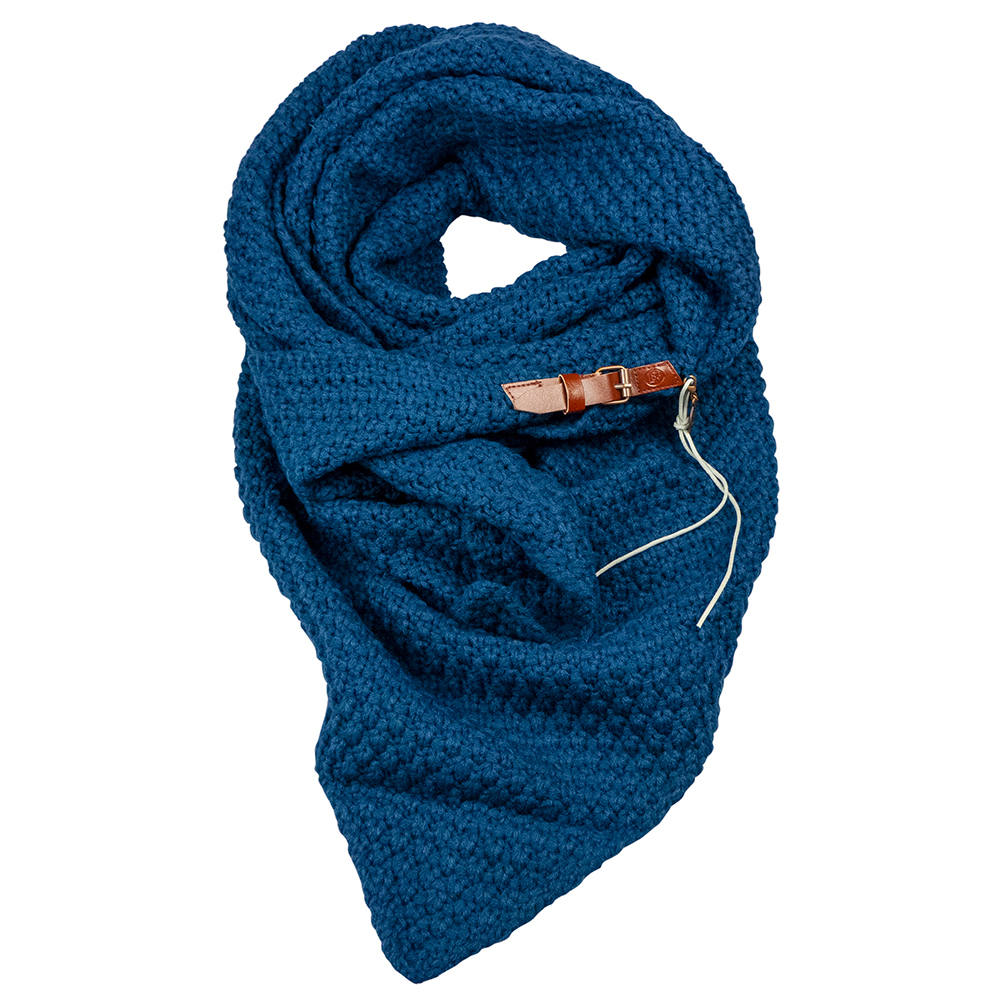 Sjaal Lot Donker Blauw