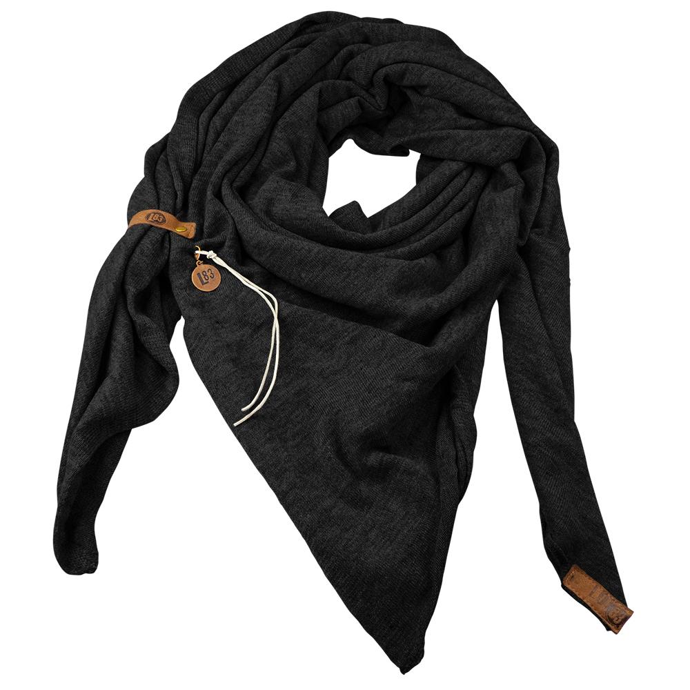 Sjaal Fien Zwart