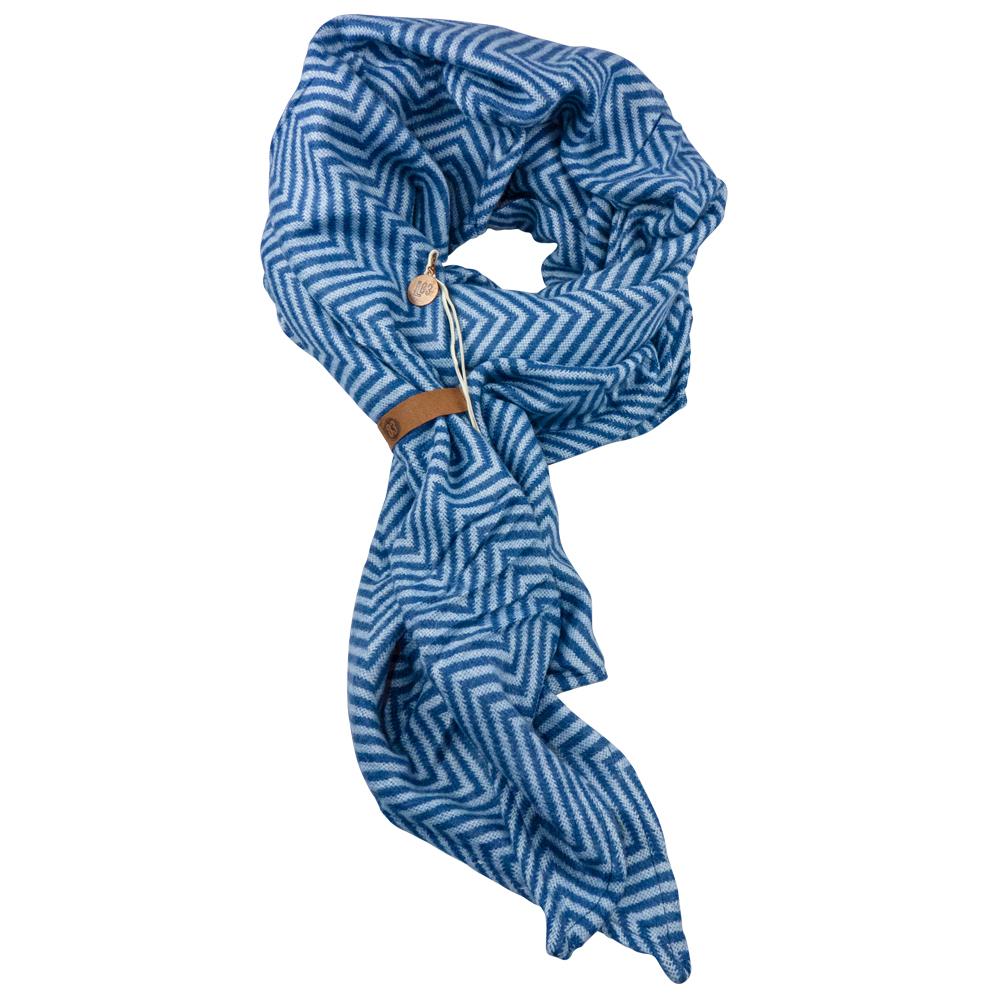 Sjaal Tess Blauw