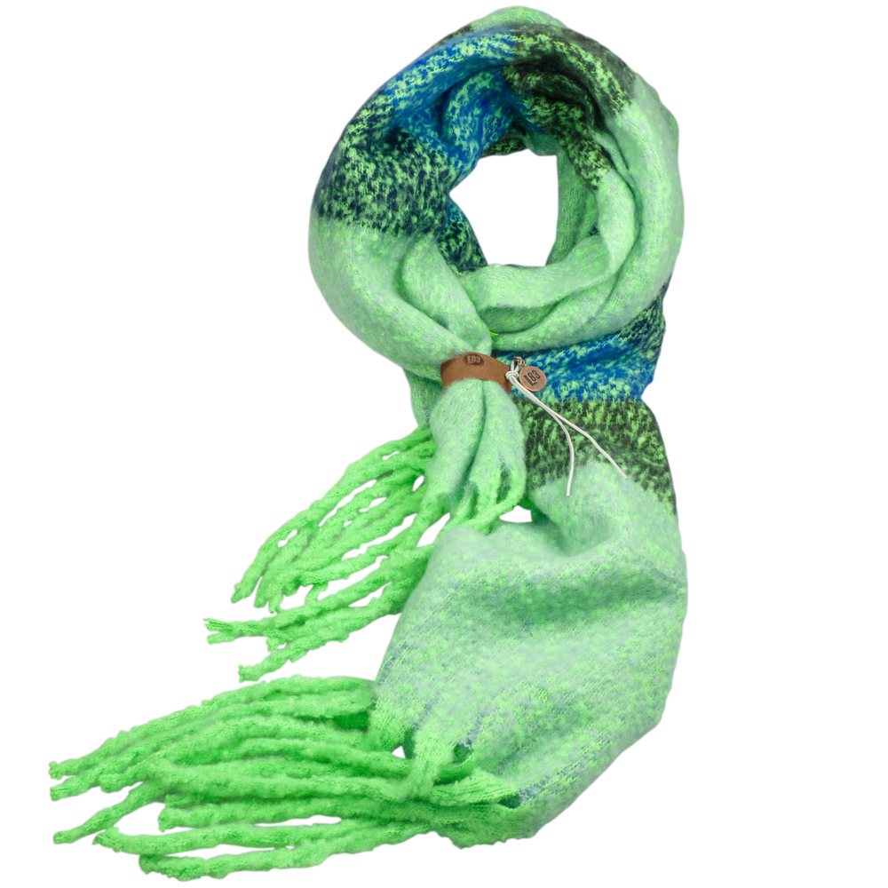 lot83, sjaal, neon groen