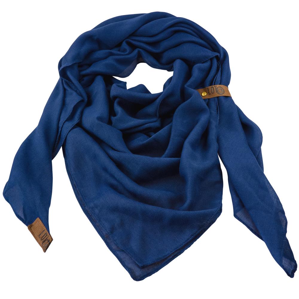 Sjaal Puk Donkerblauw