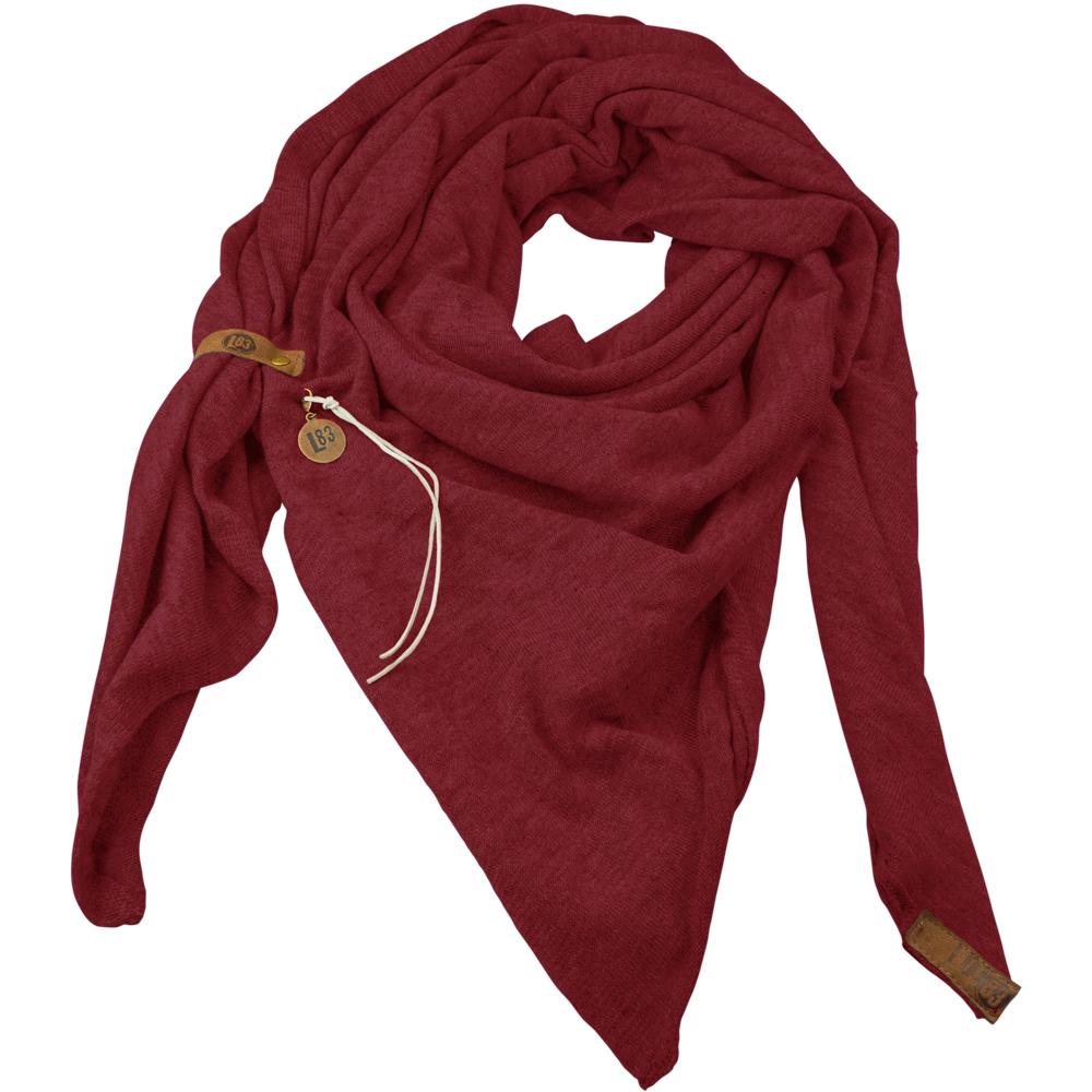 Sjaal Fien Bordeaux