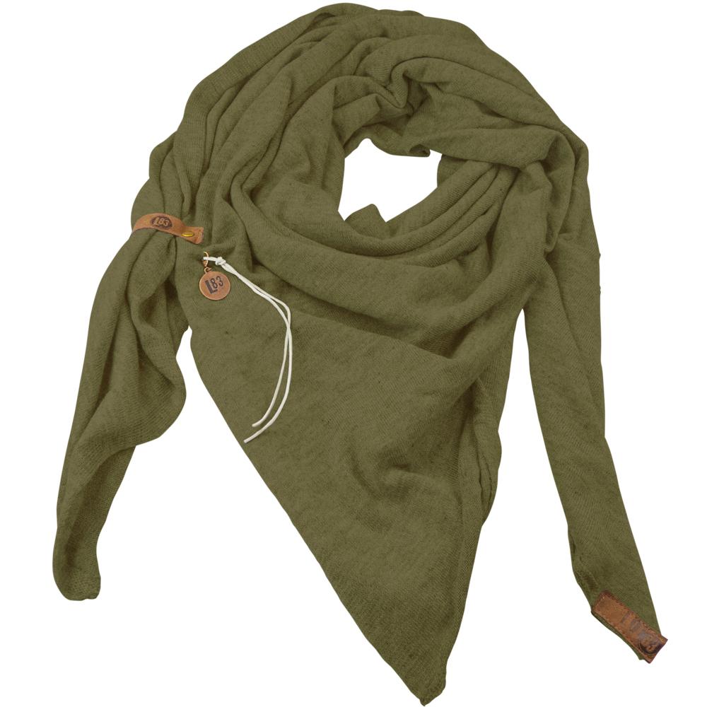 Sjaal Fien Olive