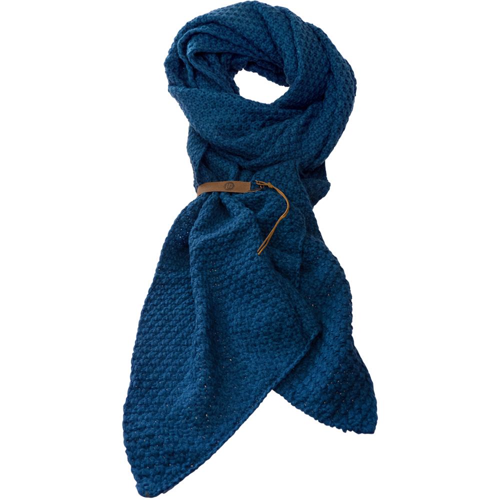 Sjaal Bo Petrol Blauw