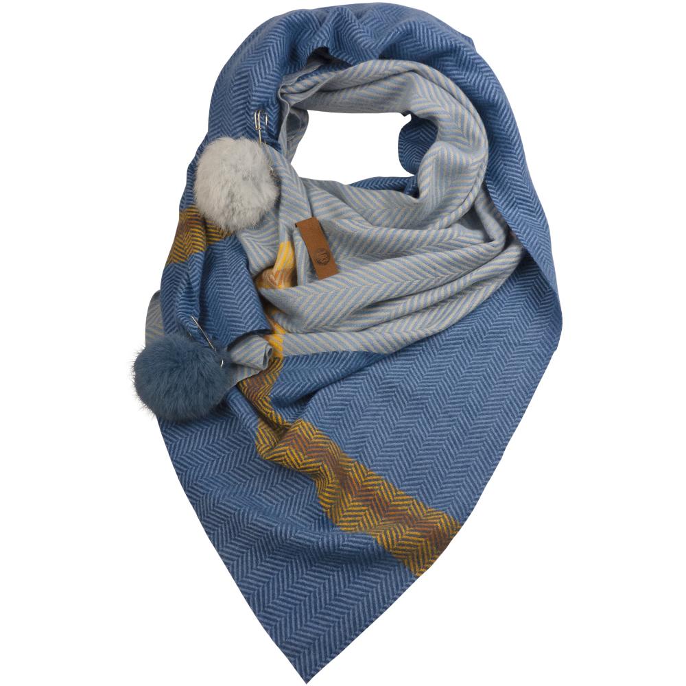 Sjaal Juul Blauw