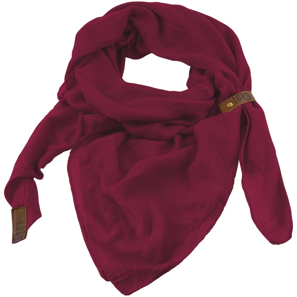 Sjaal Puk Bordeaux