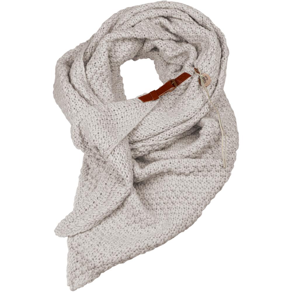 Schal Lot Wolle Weiß