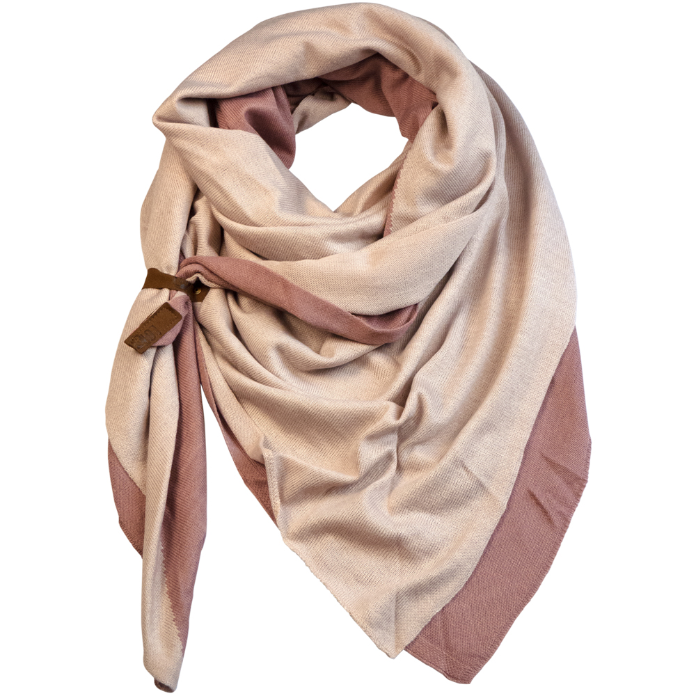 Scarf Fien Twin Pink/Old Pink