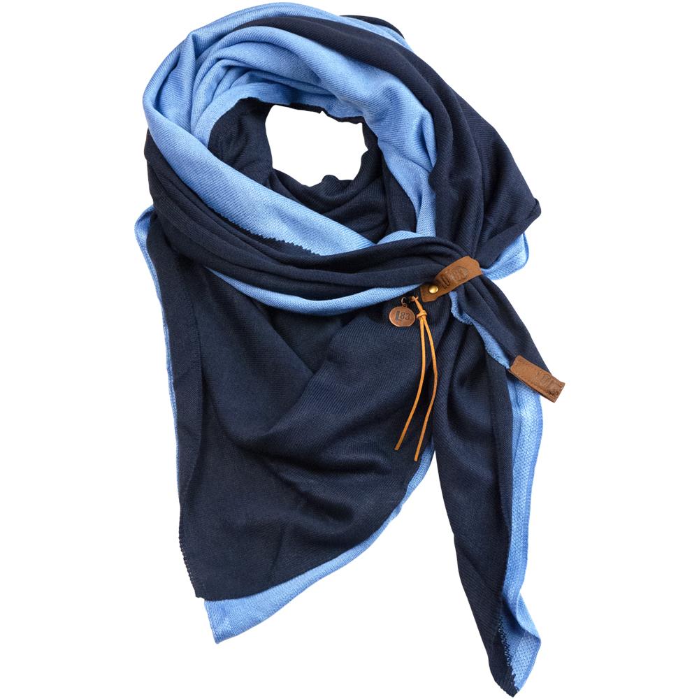 Scarf Fien Twin Jeansblue/Blue